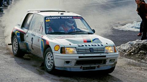 Peugeot 205 T16 Ari Vatanen I