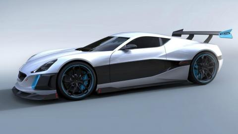 Rimac Concept S Lateral