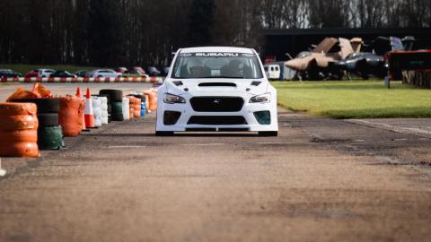 Subaru WRX STI Tourist Trophy 2016 listo para el ataque