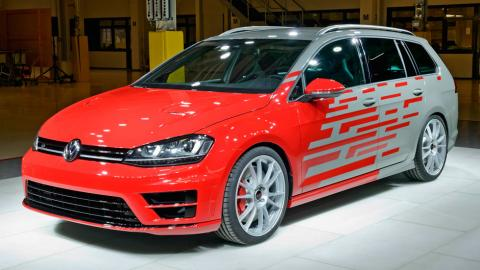 Volkswagen Golf R Estate Performance 35 único familiar audio sonido