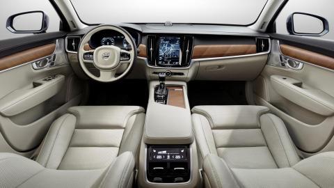 Interior del Volvo S90 2016