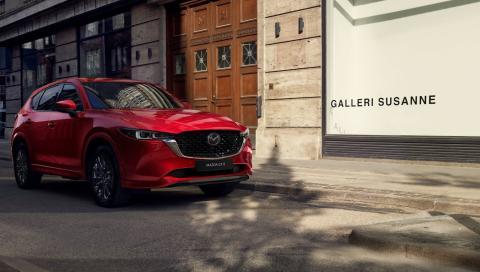 Distintos acabados del Mazda CX-5 2022