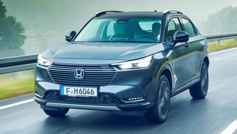 Prueba del Honda HR-V 2022