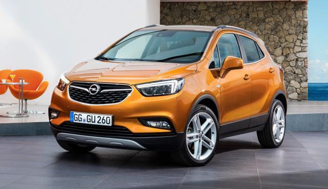 Opel Mokka X delantera