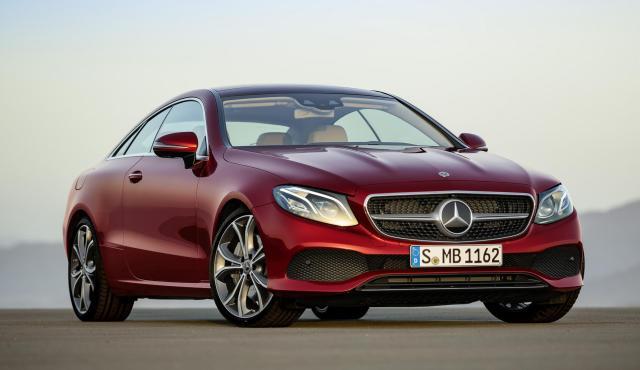 Mercedes-Benz Clase E Coupé (I)