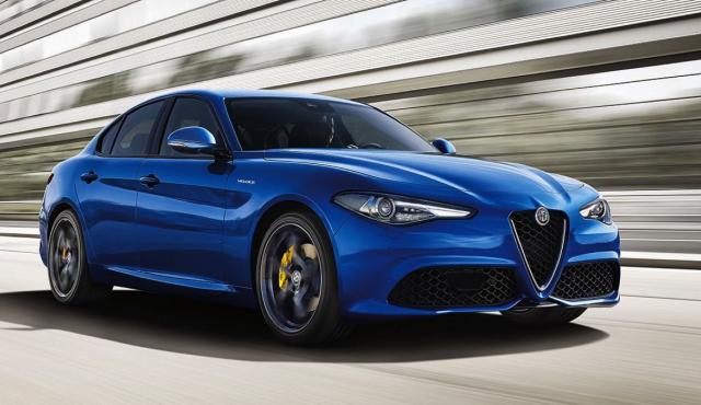 Alfa Romeo Giulia Veloce dinámica