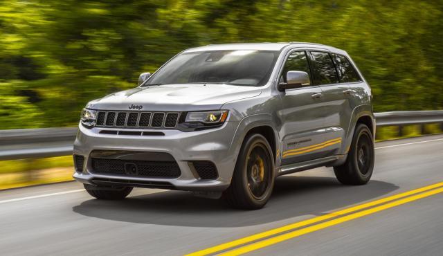 Jeep Grand Cherokee Trackhawk prueba suv deportivo