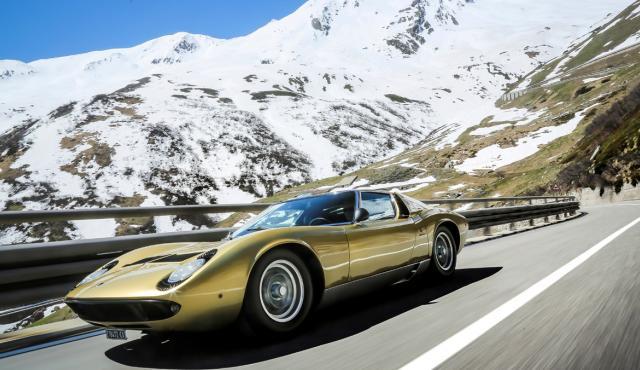 Prueba Lamborghini Miura