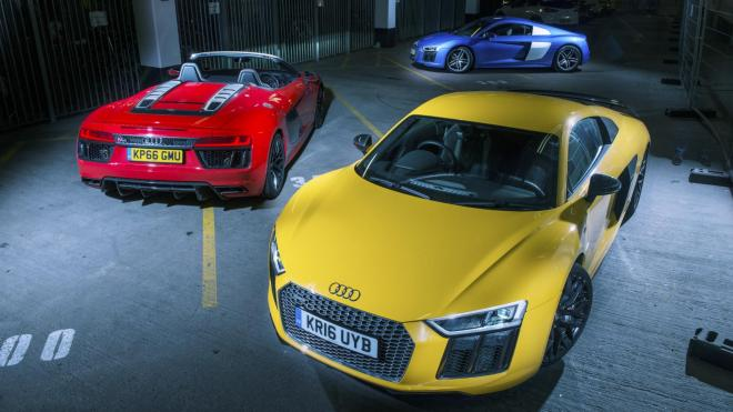 Comparativa Audi R8 versiones