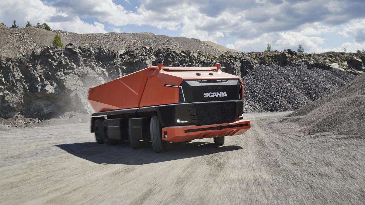 Scania AXL y otros camiones autónomos revolucionarios