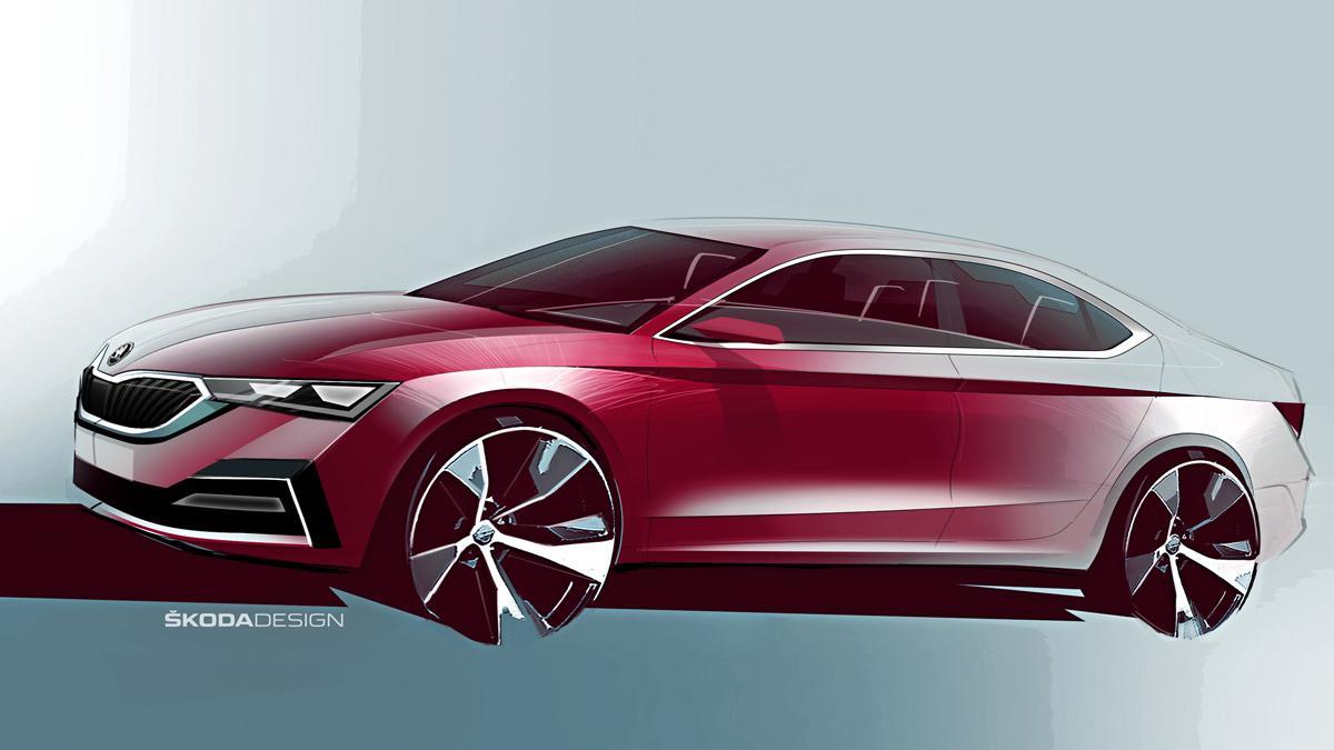 Así será el nuevo Skoda Octavia: ¡con una carrocería de estilo coupé!
