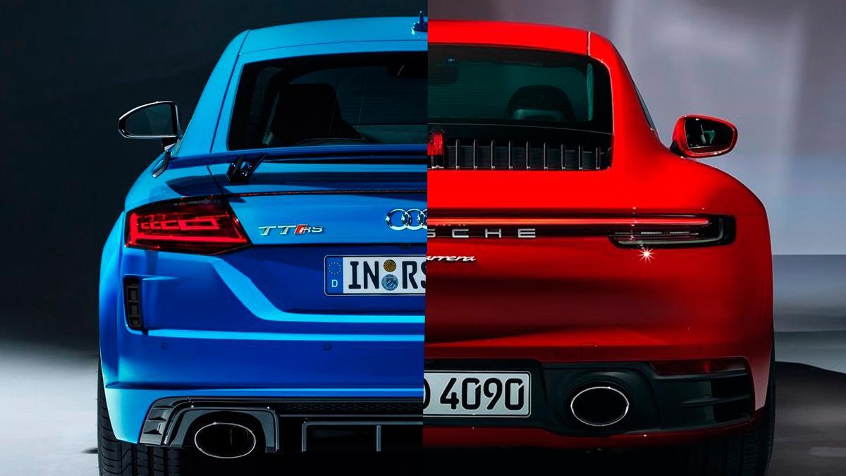 Porsche 911 Carrera o Audi TT RS, ¿cuál es más recomendable?