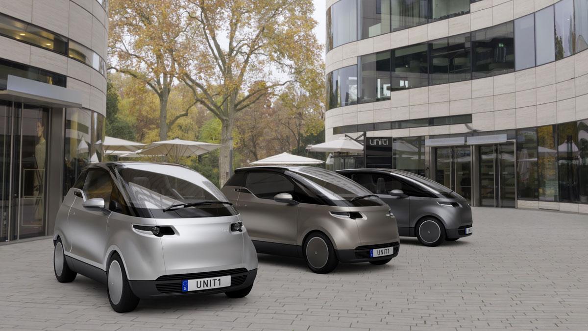 Uniti One: llega un nuevo coche eléctrico urbano... y barato