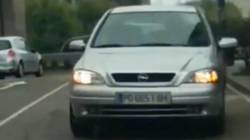Detenido por conducir marcha atrás 3 km en Vigo