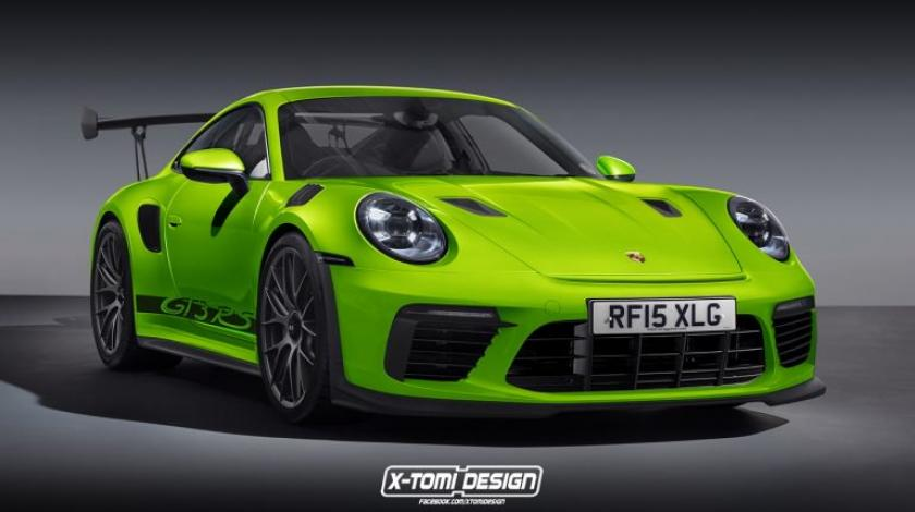 Porsche 911 GT3 RS 992 X-Tomi