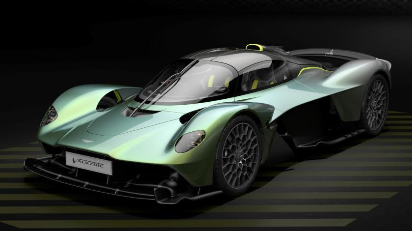 Aston Martin Valkyrie Top Gear