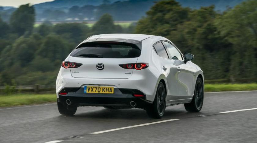 Prueba del Mazda3 Skyactiv-X