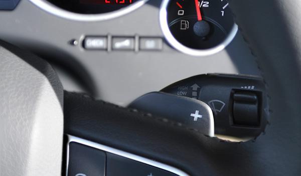 Seat EXEO TDI MULTITRONIC levas de la caja de cambios