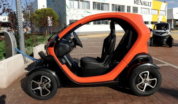 Renault Twizy recarga bateria