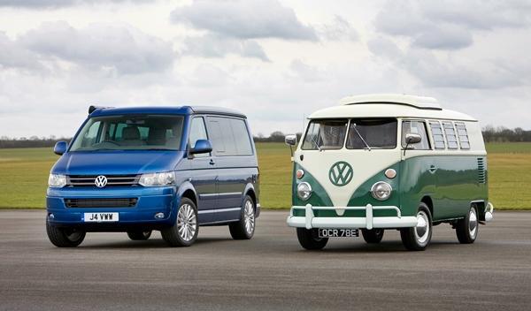 Volkswagen California t1 y t5