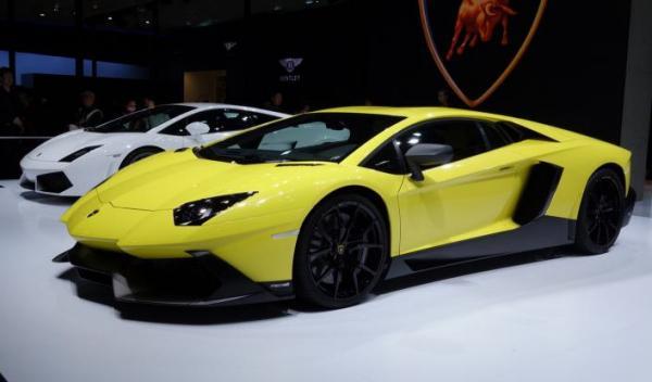 Lamborghini Aventador LP720-4 50 Aniversario Shangai
