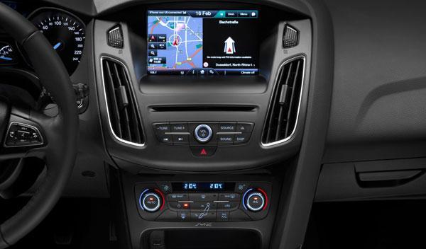ford focus 2014 consola central interior