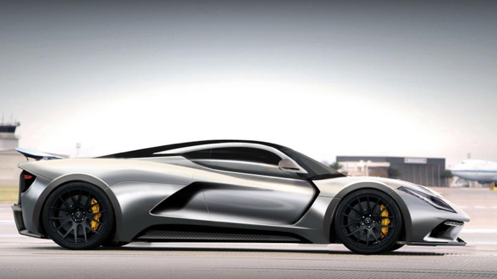 Hennessey Venom F5 aerodinámica