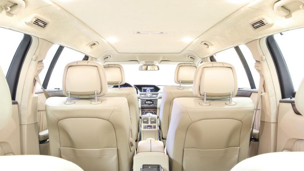 Mercedes clase e limusina seis puertas plazas
