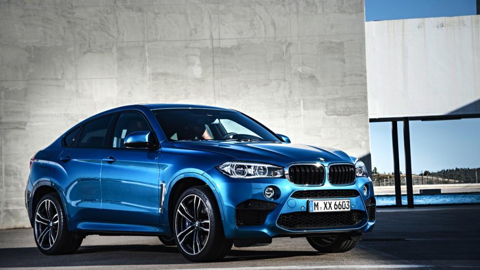 BMW X6 M tres cuartos delanteros