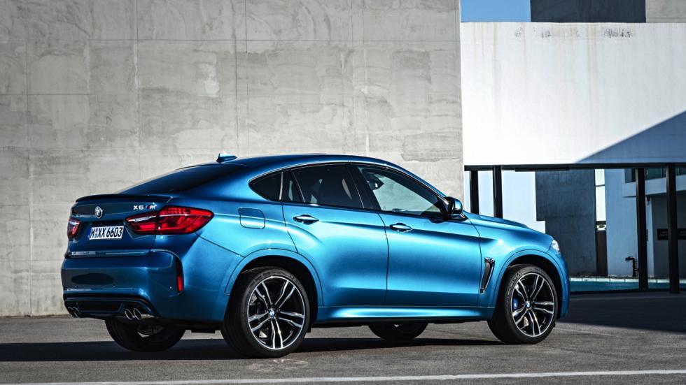 BMW X6 M tres cuartos traseros