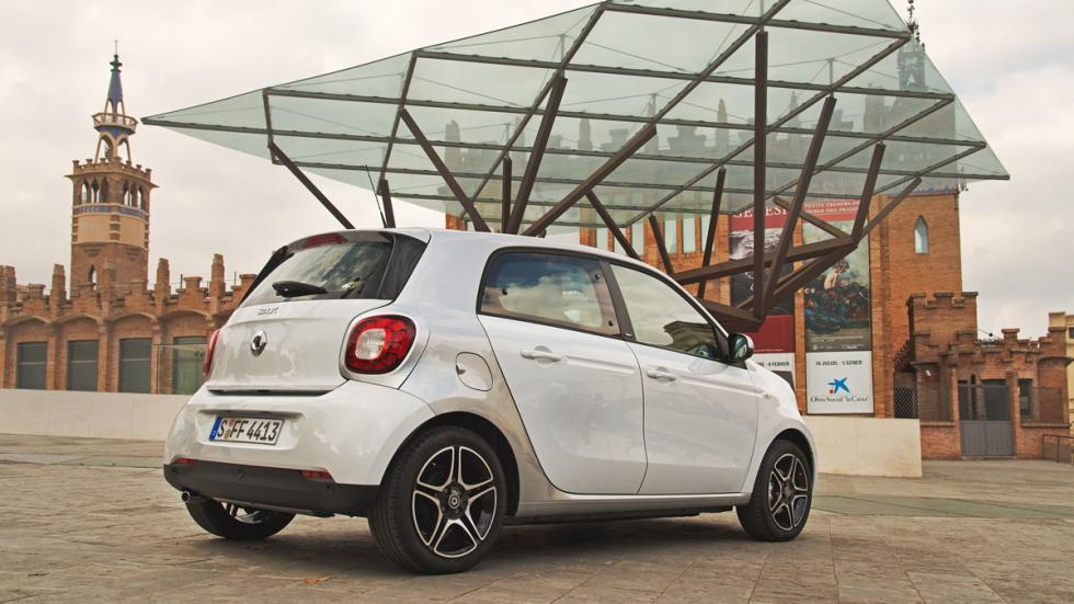 smart forfour trasera