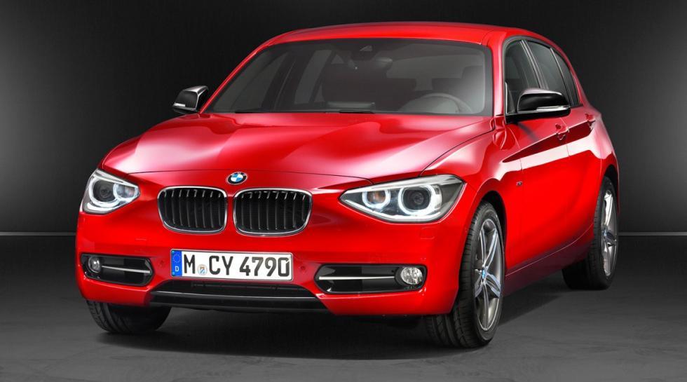 BMW 118d delantera