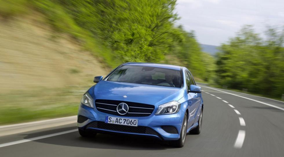 Mercedes A 200 CDI delantera
