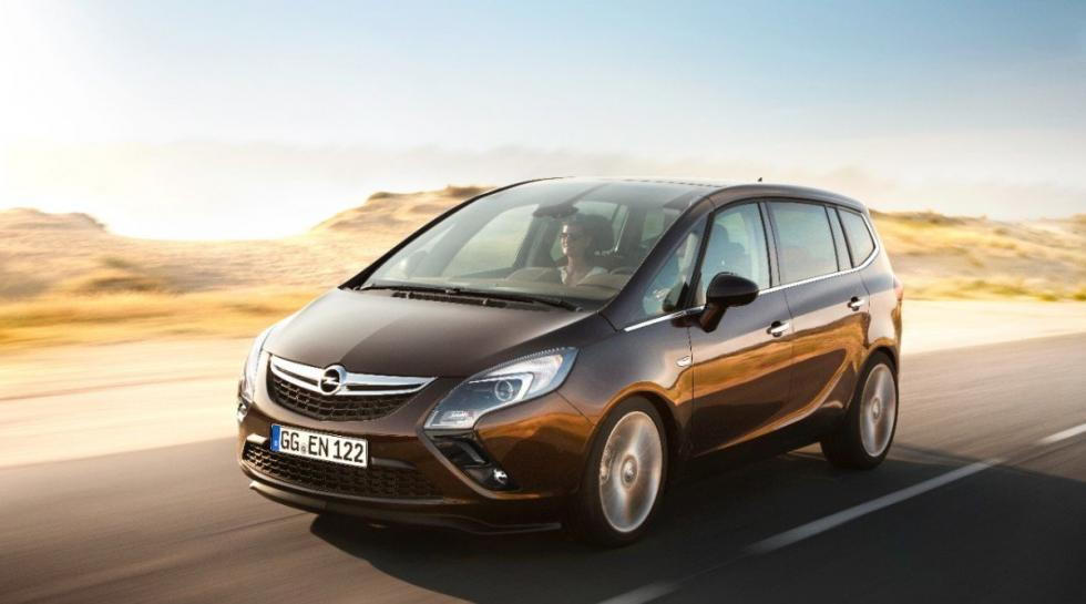Opel Zafira Tourer delantera