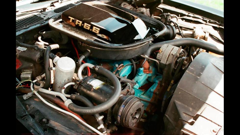 Pontiac Firebird Trans Am Special Edition - motor