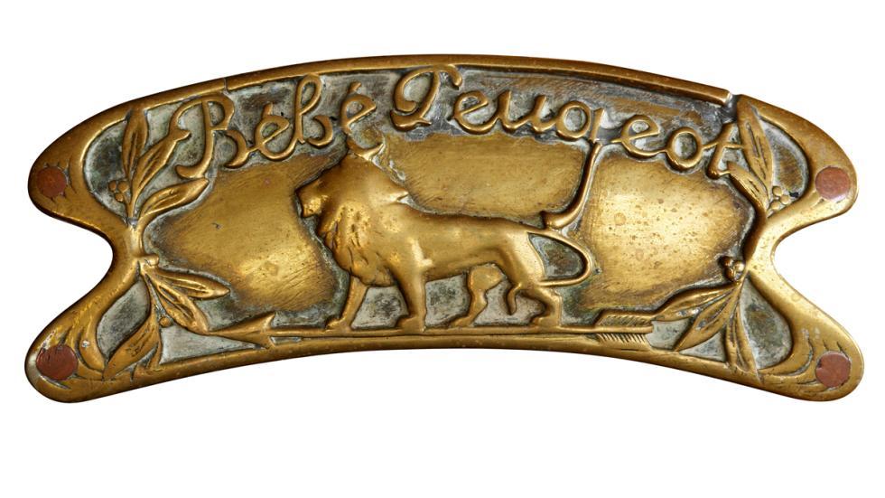 Logo Peugeot del año 1913