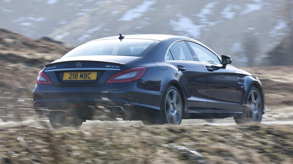 coches para hacer drift Mercedes-AMG CLS 63