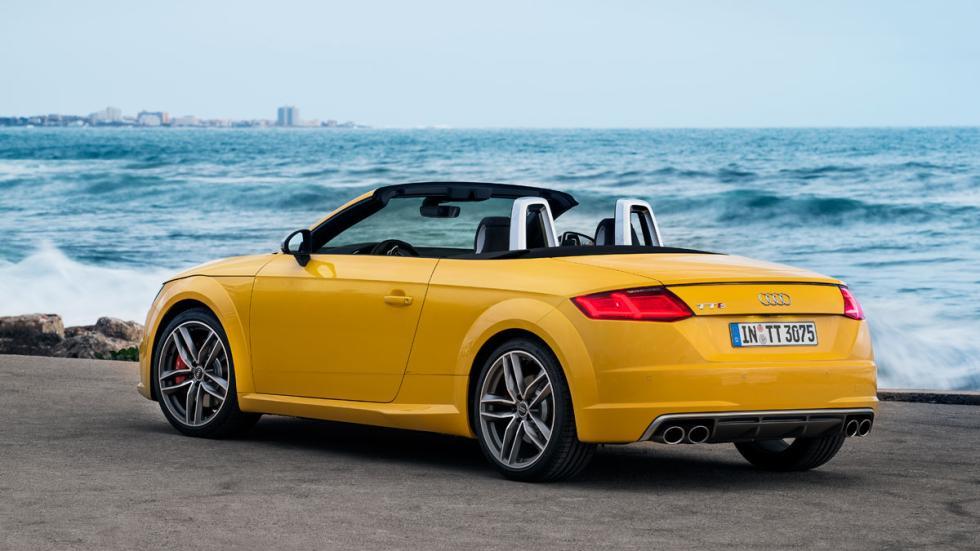 Audi TTS Roadster trasera