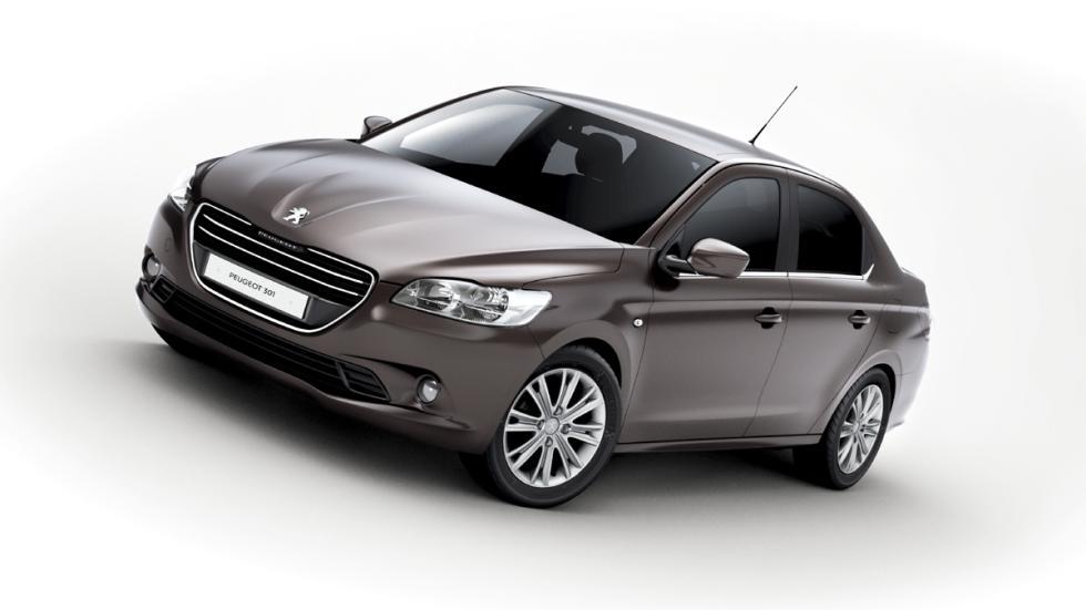 coches menos estrellas euroncap Peugeot 301