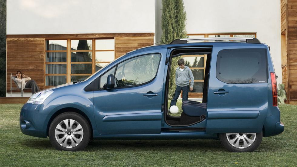 coches menos estrellas euroncap Citroën Berlingo