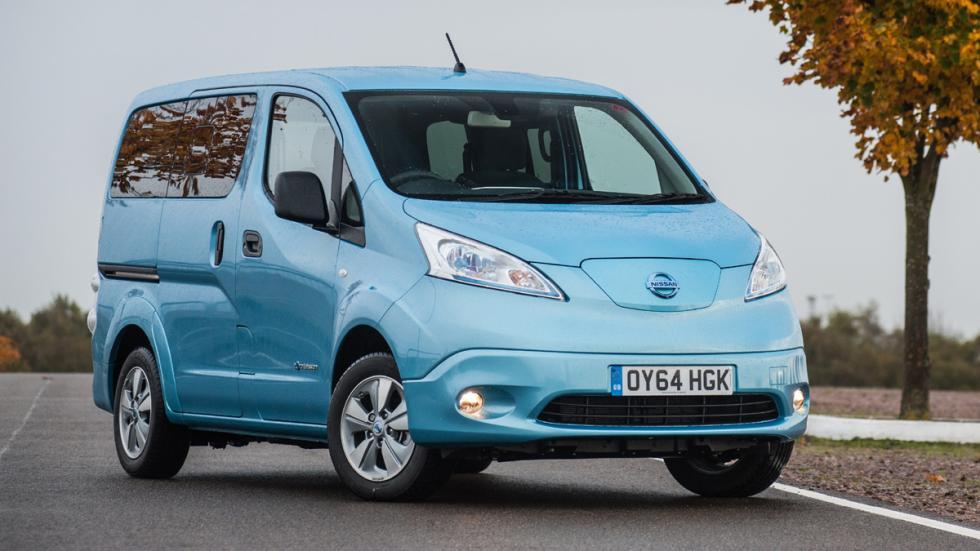 coches menos estrellas euroncap Nissan e-NV200