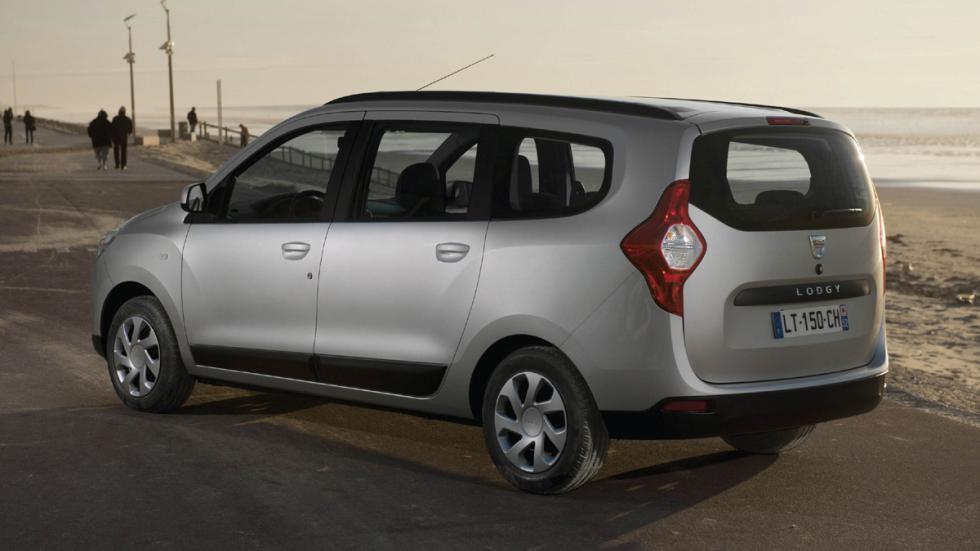 coches menos estrellas euroncap Dacia Lodgy