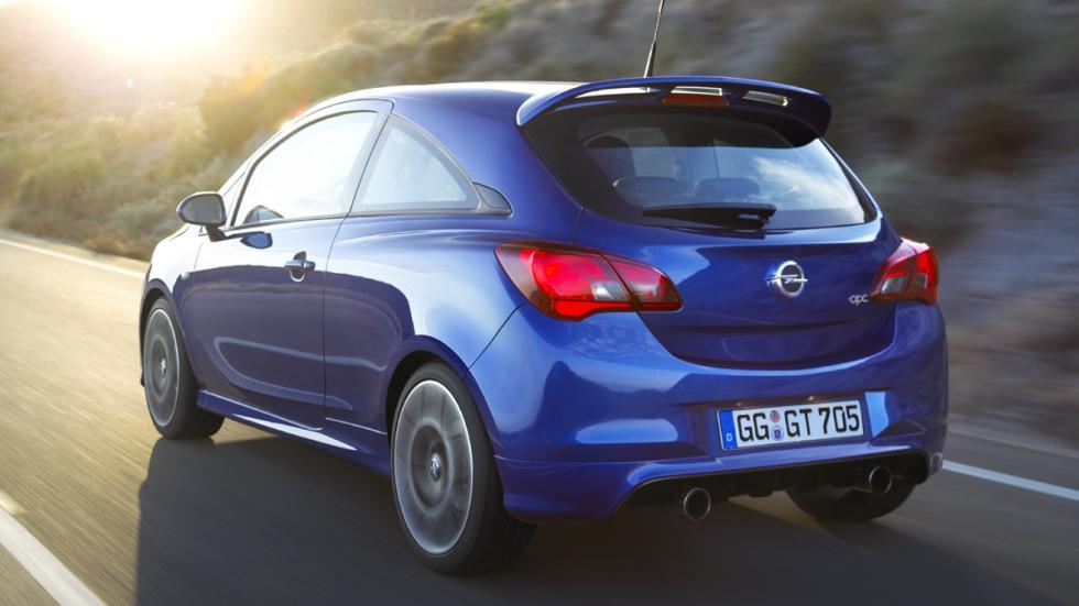 Opel Corsa OPC 2015 culo