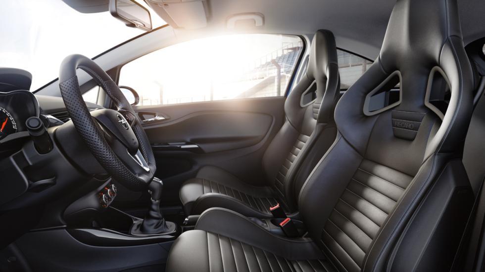 Opel Corsa OPC 2015 asientos