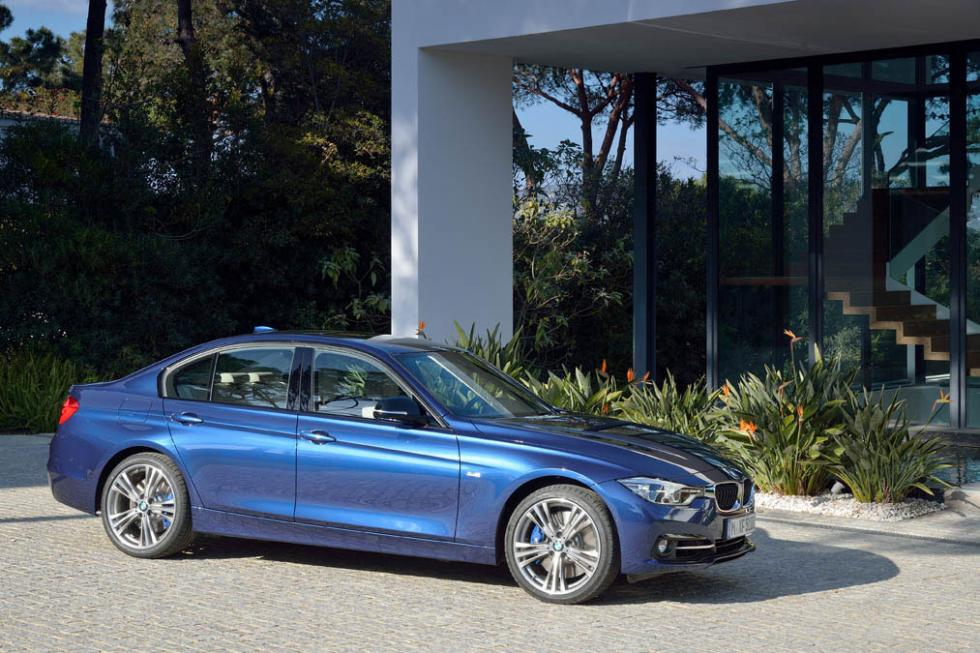 BMW Serie 3 2016 lateral