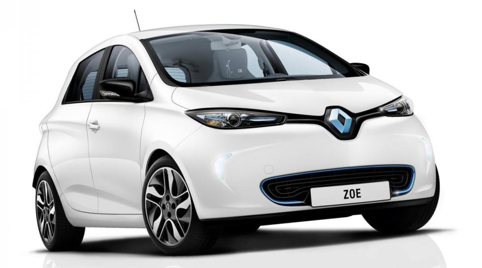 Renault ZOE delantera