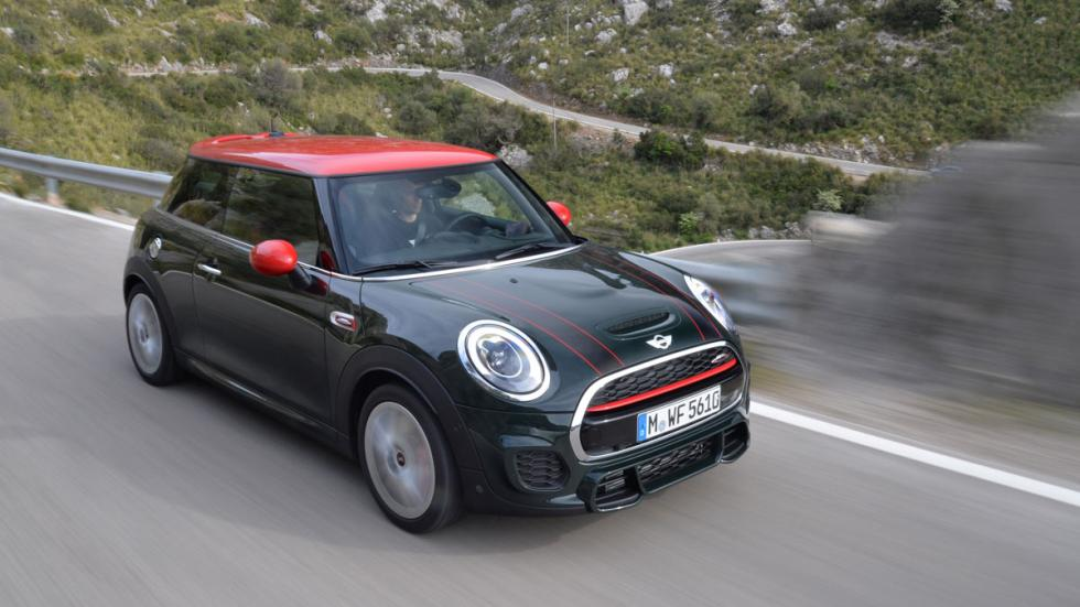 Mini John Cooper Works 2015 cenital
