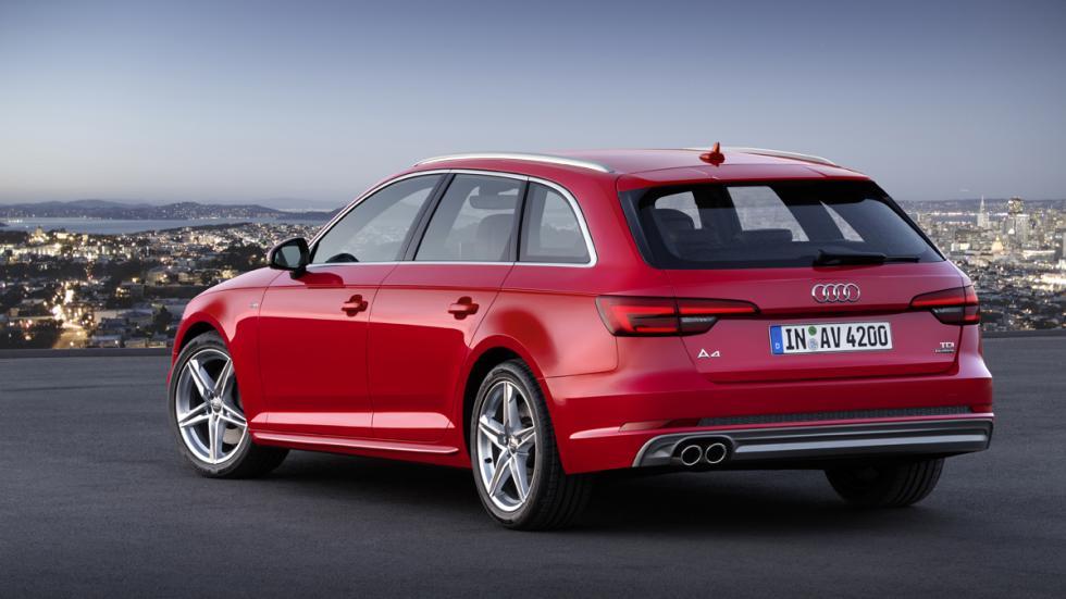 portón de acceso al maletero del Audi A4 Avant 2015