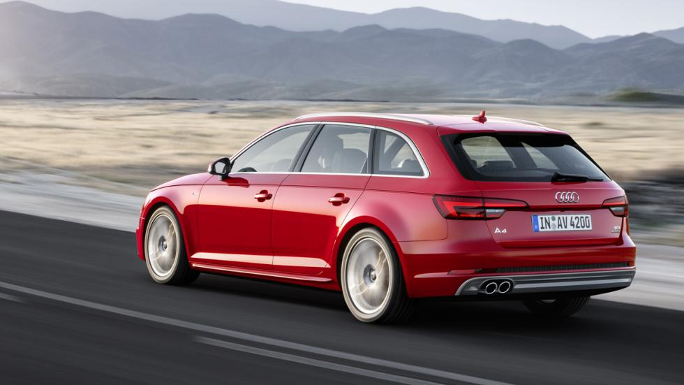 en marcha Audi a4 avant