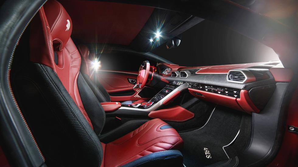 Lamborghini Huracan Ares Design interior